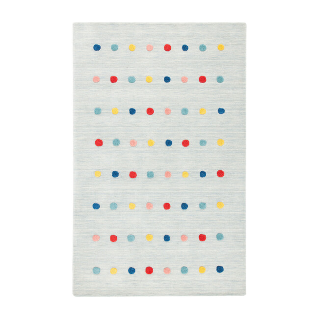 Kids Carter Rug, Grey