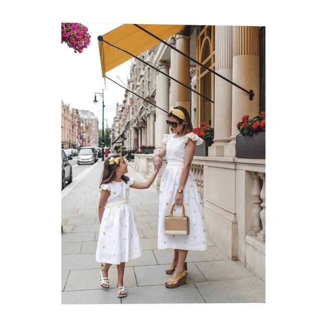 Women's Lemon dress, White