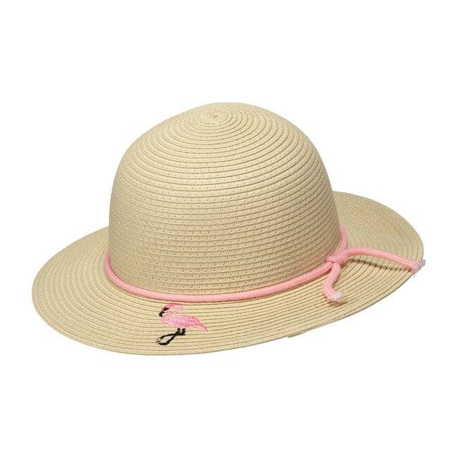 Flamingo Straw Hat