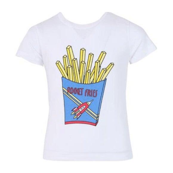 Rocket Fries T-Shirt, White