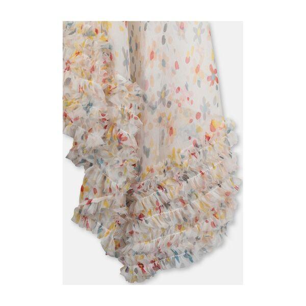 Silk Flower Maxi Dress, Multi