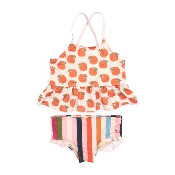 Joy Tankini, Cloud Pink Oranges