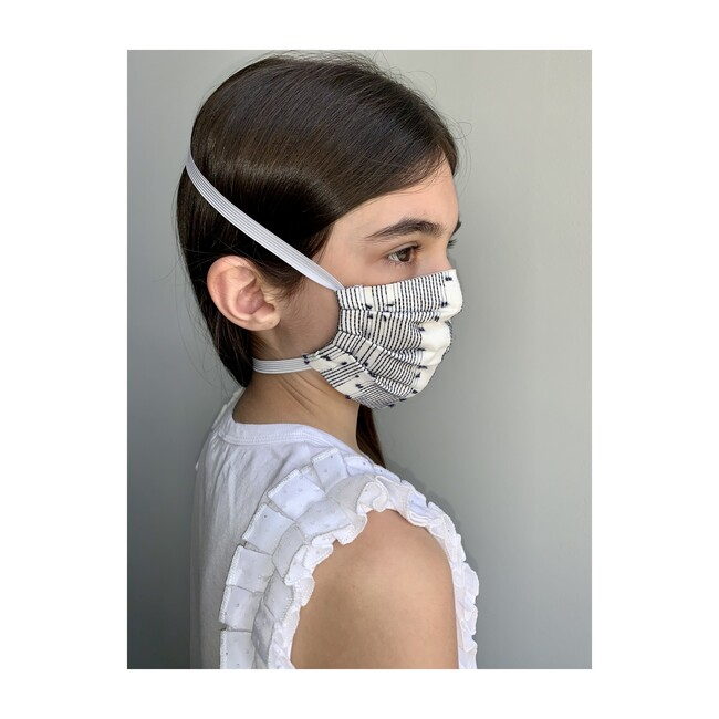 Reusable Youth Cloth Face Mask, Blue