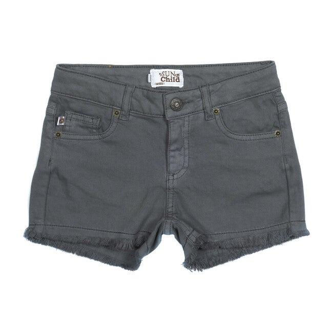 Praslin Jean Shorts, Grey