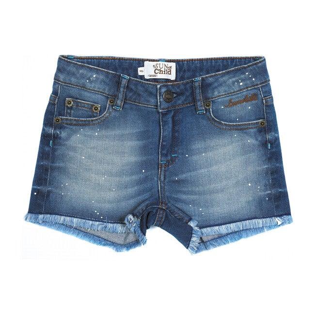 Praslin Jean Shorts, Blue
