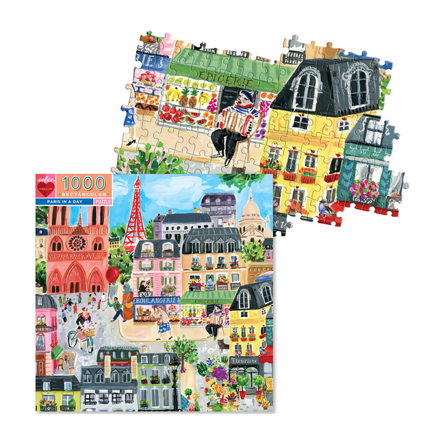Paris in a Day 1000-Piece Puzzle