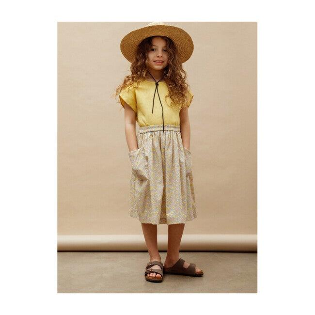 Agnes Midi Skirt, Amelie Pastel