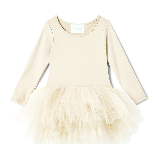 B.F.F. Tutu Dress, Pearl Ivory