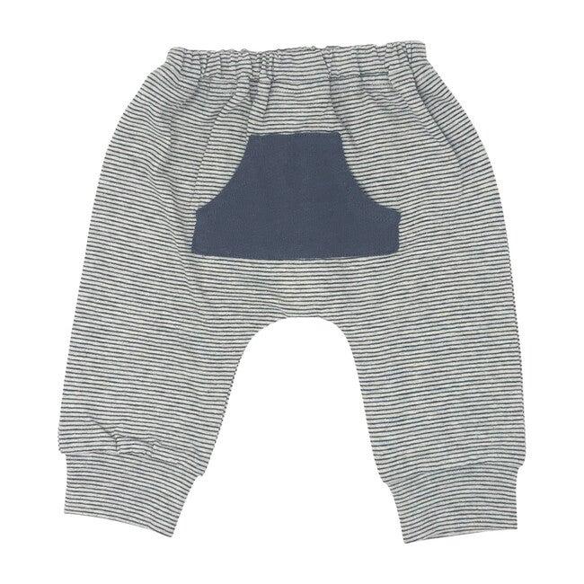 Front Pocket Pants, Navy