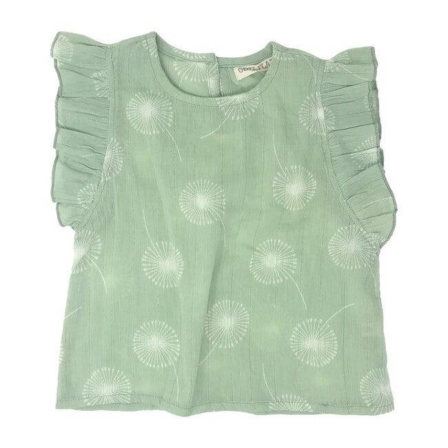Dandelion Blouse, Green