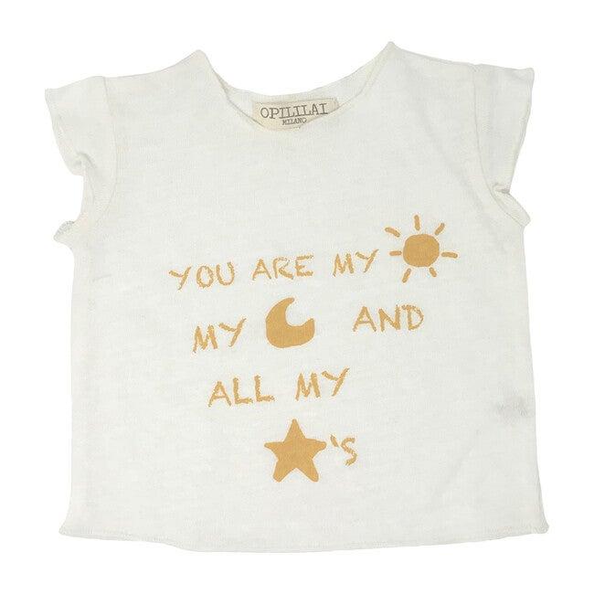 You Are My Sun Tee, Yellow