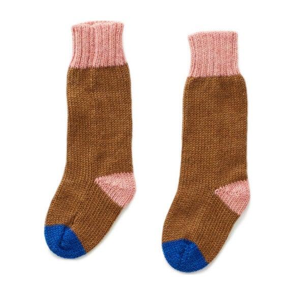 Olive and Peony Long Socks