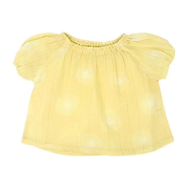 Dandelion Blouse, Yellow