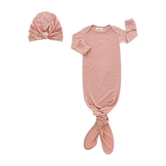 Newborn Gift Set, Dusty Rose - Mixed Gift Set - 1