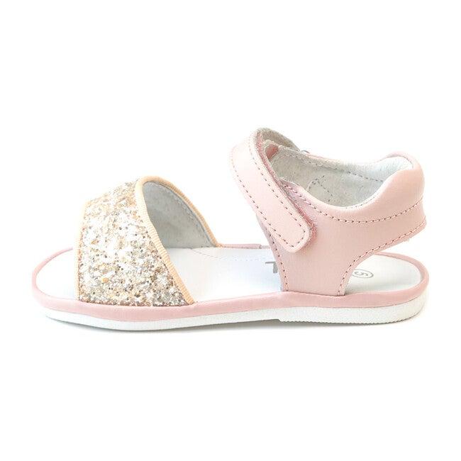 Baby Elise Glitter Open Toe Sandal, Pink
