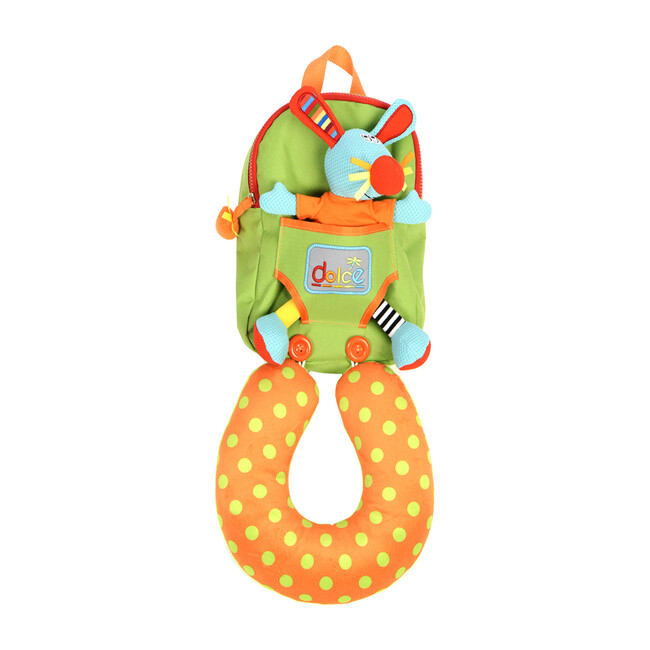 Rabbit Backpack with Neck Support