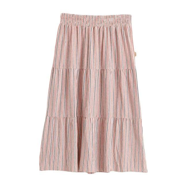 Maeva Striped Skirt, Multi