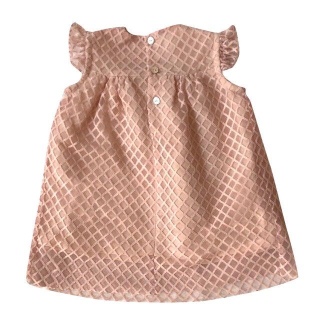 Dorothy Dress, Pink Tweed