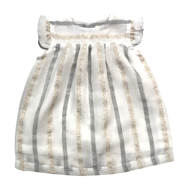 Dorothy Dress, Cream Stripes