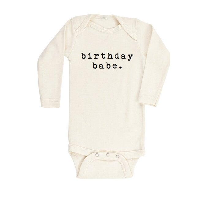 Birthday Babe Organic Bodysuit