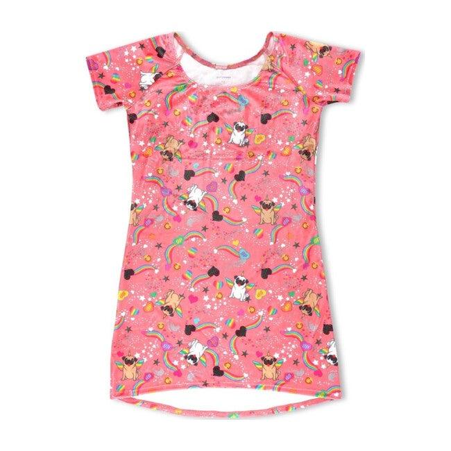 Velvet Pug Dress
