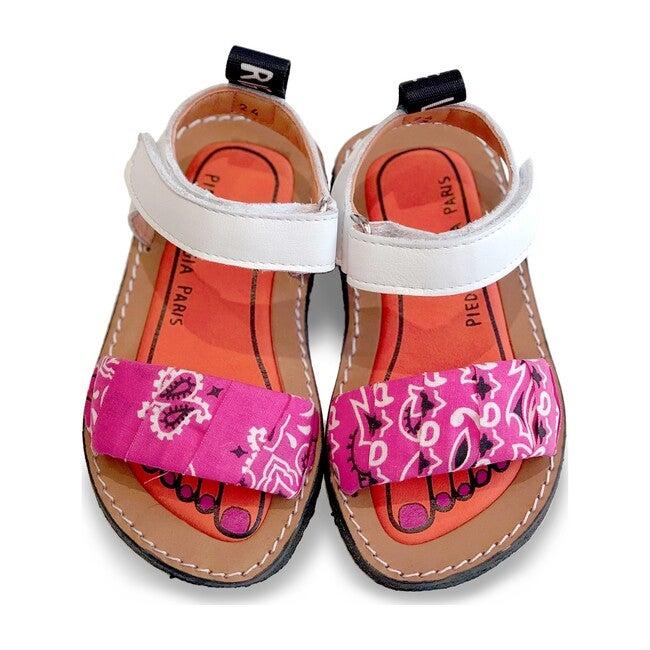 Izy Bandana Sandal, Bubblegum Pink