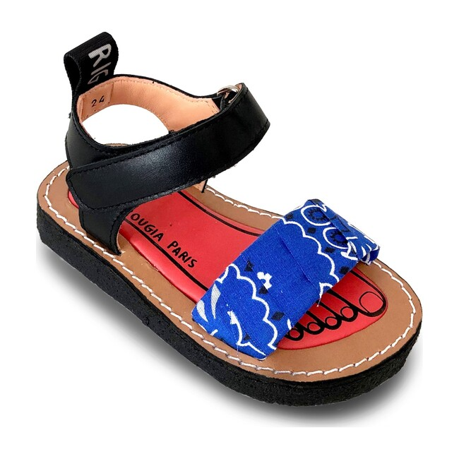 Izy Bandana Sandal, Jelly Blue