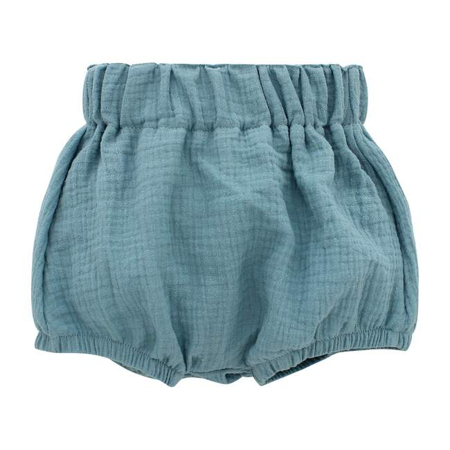 Gauze Baby Bloomers, Dusty Blue