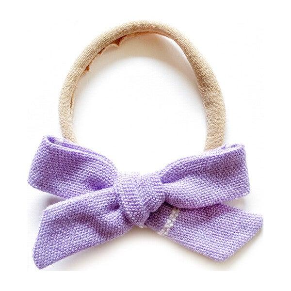 Mini Schoolgirl Headband, Flor de Lavanda