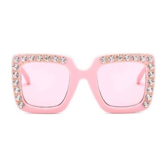 Elton Sunglasses, Pink - Sunglasses - 1