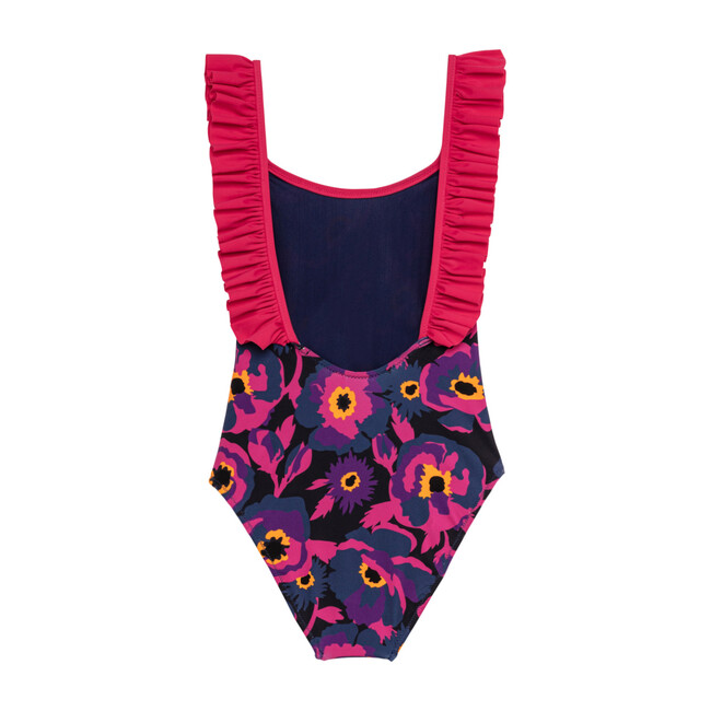 Coquelicot One Piece Swimsuit, Violet