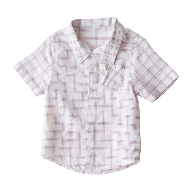 Chex Thistle Shirt, White