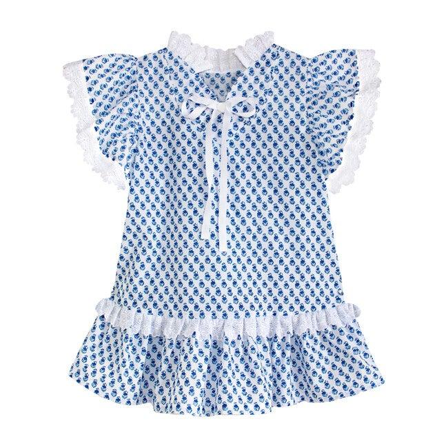 Blue Bettie Dress