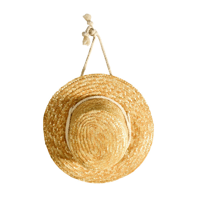 Straw Hat, Wood
