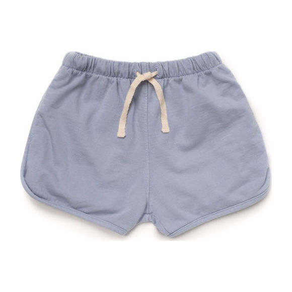 Cotton Terry Track Shorts, Ciel
