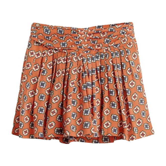 Afro Skirt, Orange