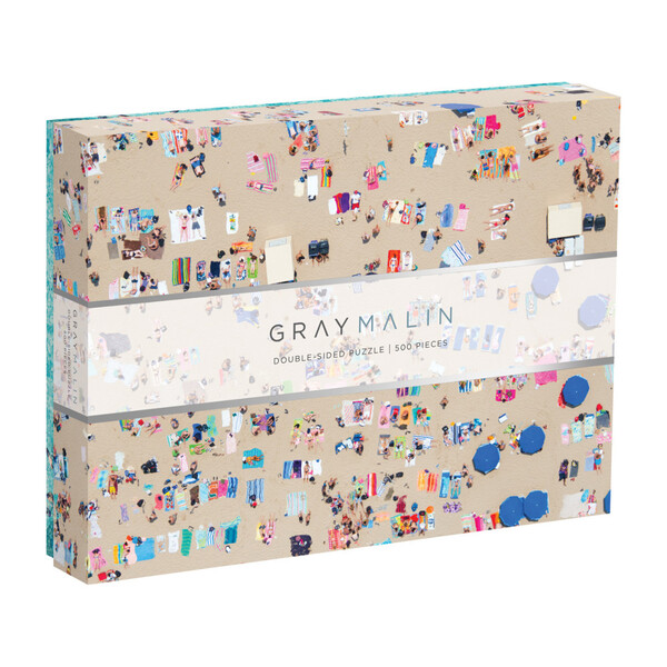 Gray Malin The Beach Double-Sided 500-Piece Puzzle