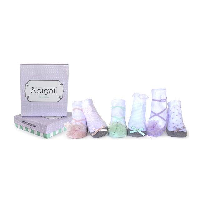 Abigail Socks, 6 Pack