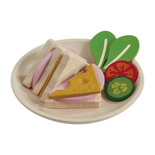 Wooden Sandwich Set - Play Food - 1
