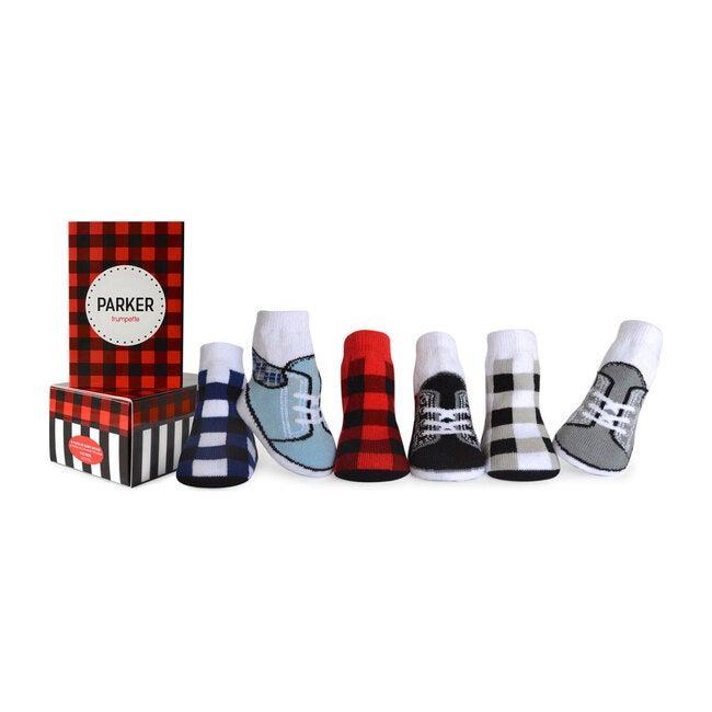Parker Socks, 6 Pack
