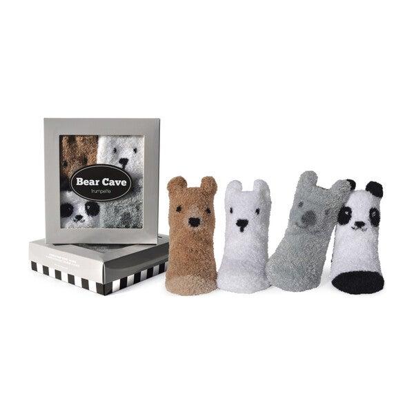 Bear Cave Socks, 4 Pack
