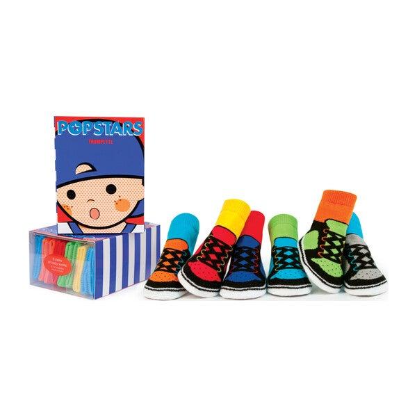 Pop Stars Socks, 6 Pack