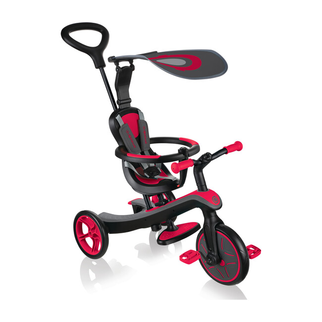 Explorer Trike 4 in 1, New Red