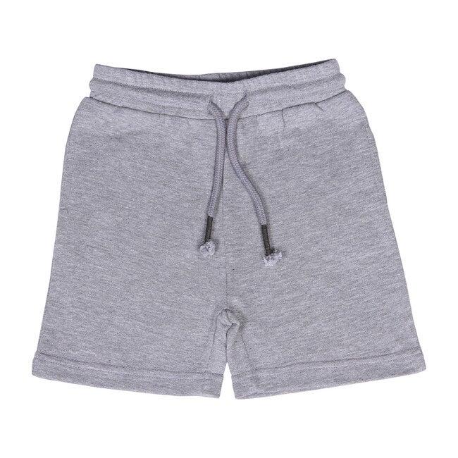 Knit Jogger Short, Grey Hea - Shorts - 1