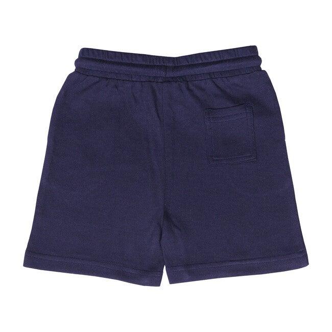 Knit Jogger Short, Navy