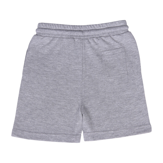 Knit Jogger Short, Grey Hea