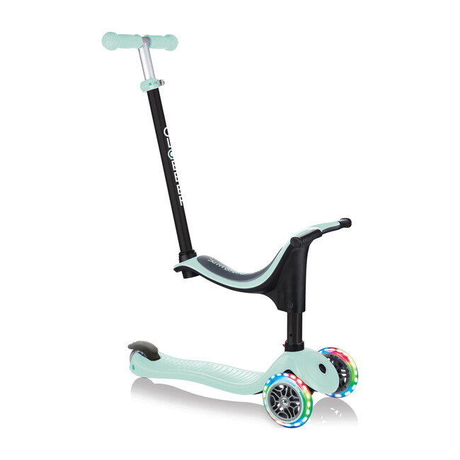 Go-Up Sporty Scooter with Lights, Mint