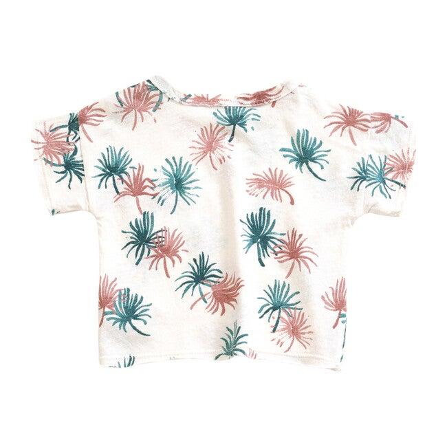 Leaves T-Shirt, Pearl