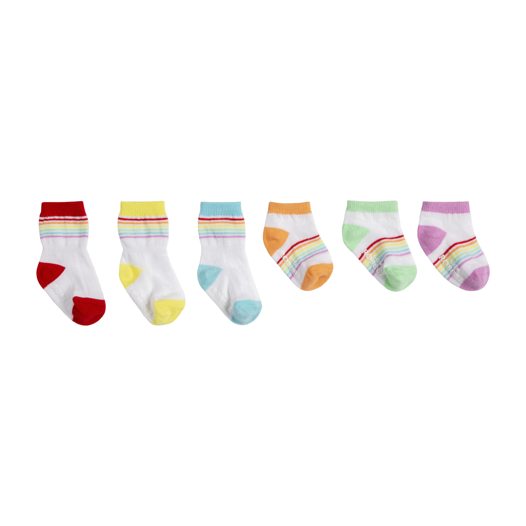 Rainbow Essentials Socks Set, Multi