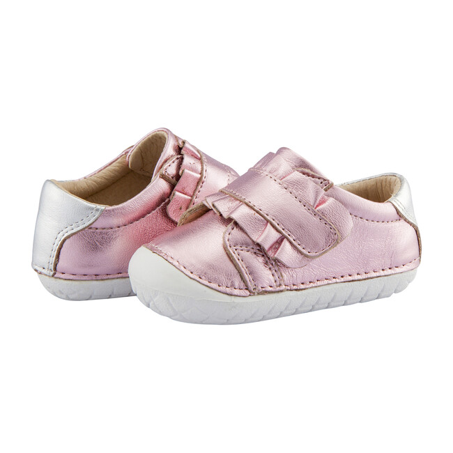 Frill Pave Sneaker, Pink Frost